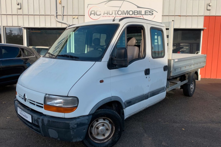 RENAULT MASTER CHASSIS DBLE CAB
